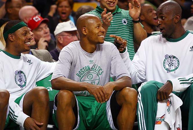 After nearly 20 years of mediocrity, the Celtics are 29-4 (through Jan. 10) and flying high again, due largely to the play of the new Big Three -- Kevin Garnett, Ray Allen and Paul Pierce.