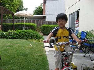 Dylan\'s new bike