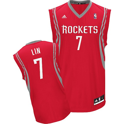 adidas Houston Rockets Jeremy Lin Revolution 30 Replica Road Jersey